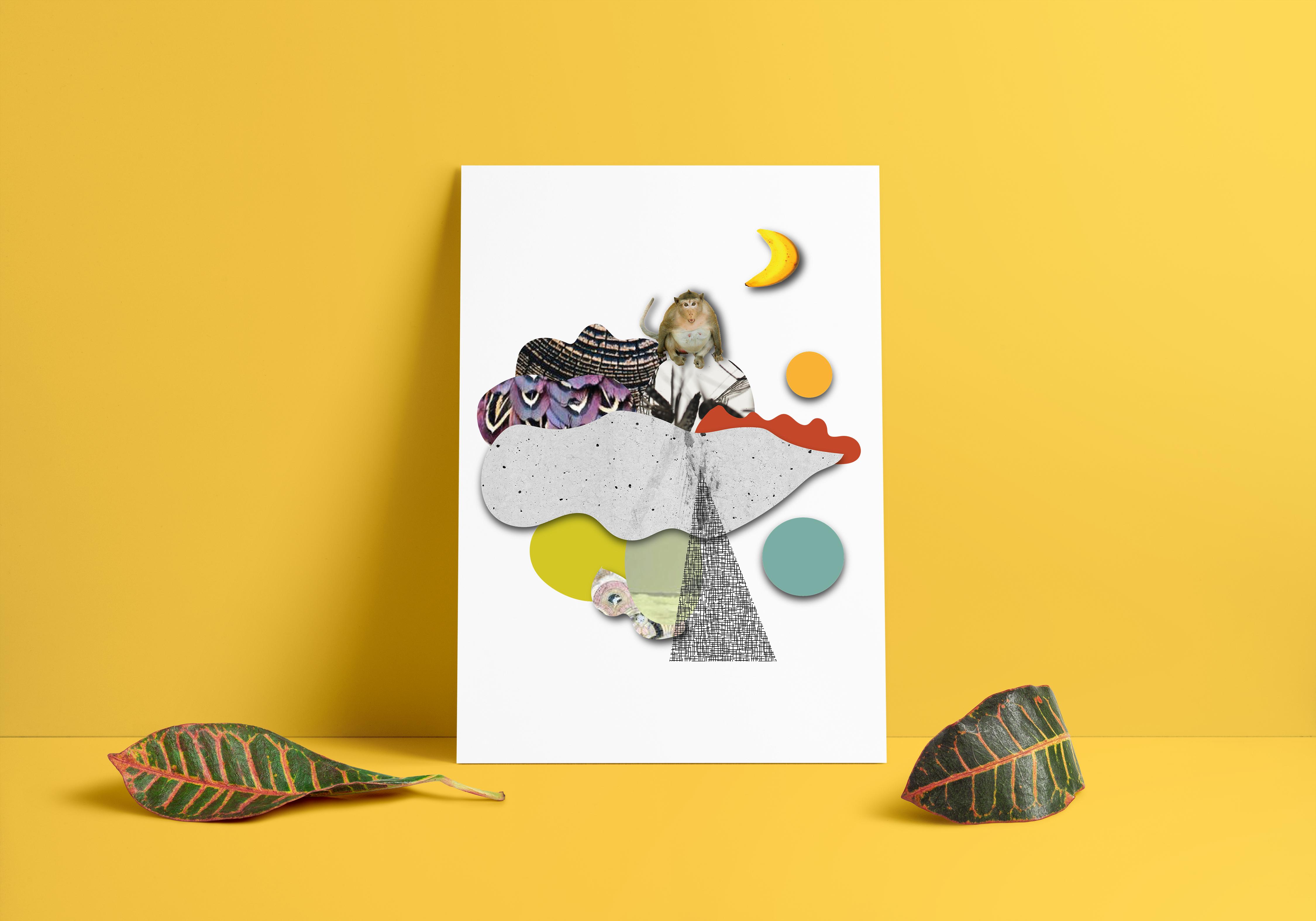 Poster - Banana Ape