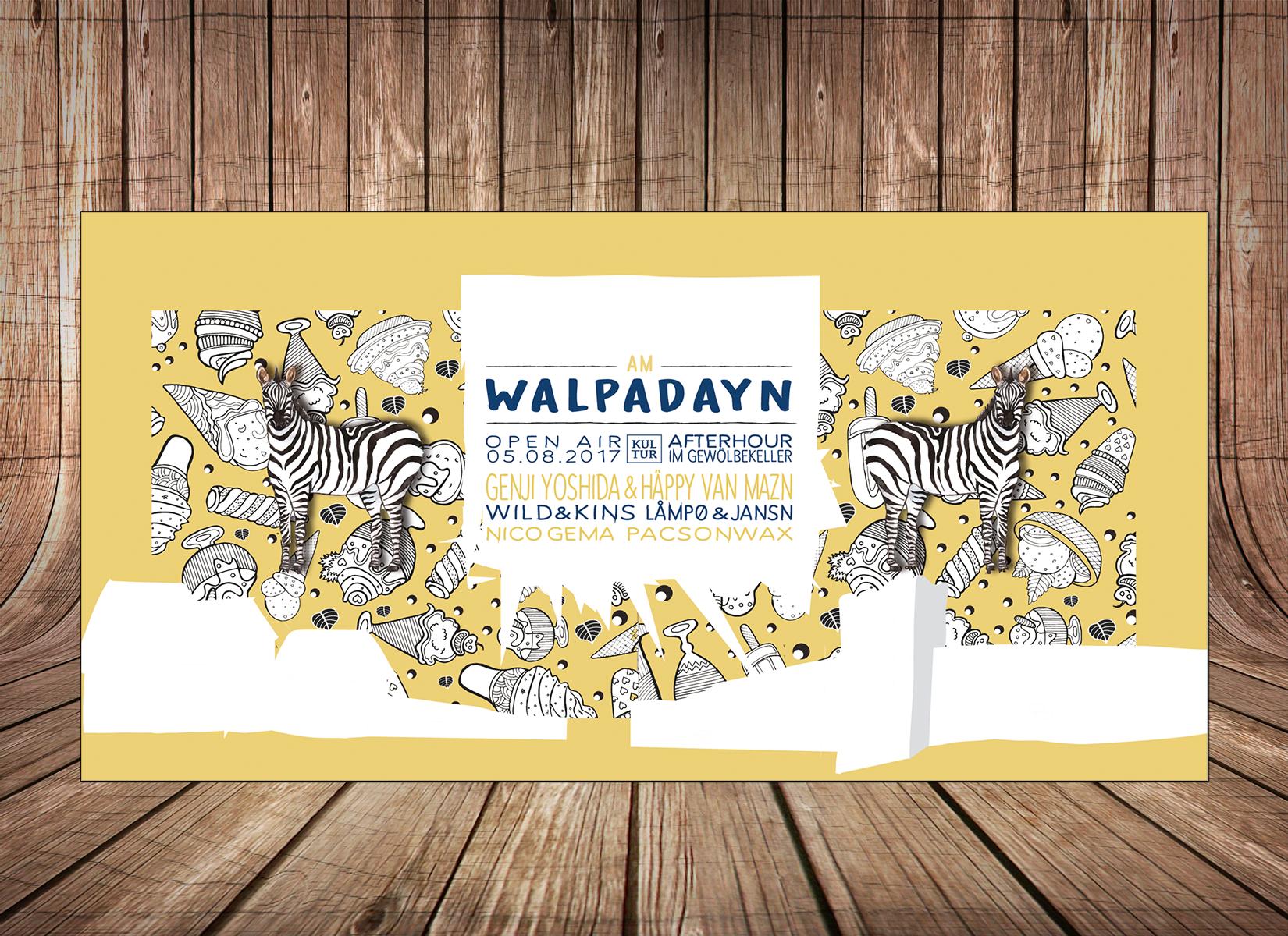 Flyer - Walpadayn Festival