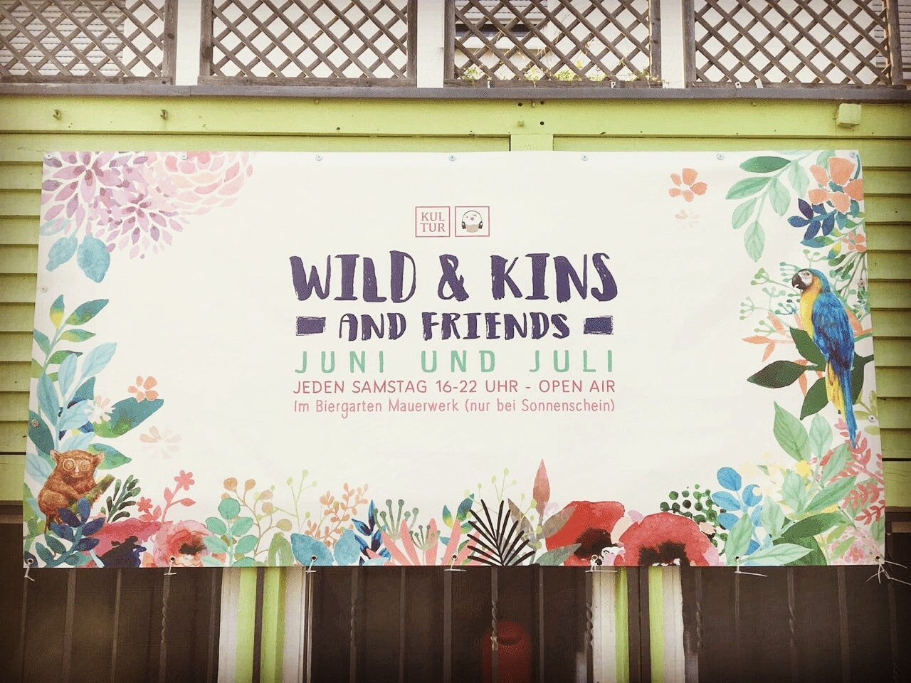 Banner - Wild & Kins and Friends