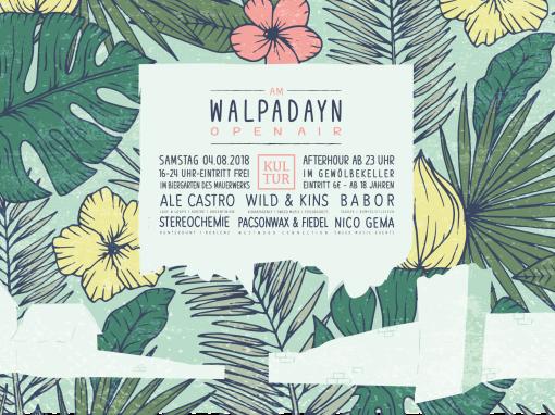 Am Walpadayn – Open Air 2018
