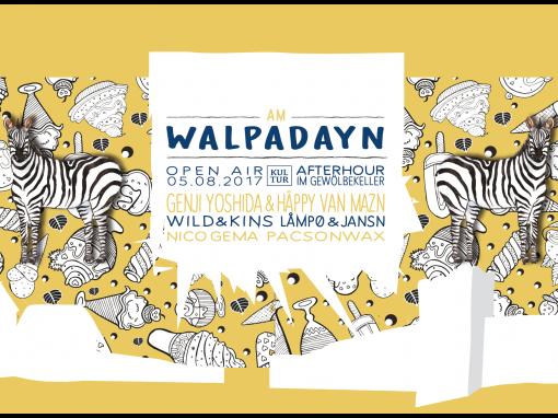Am Walpadayn – Open Air 2017